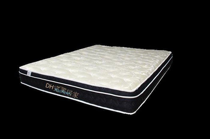【DH】商品貨號R633《文巧》6尺天然蠶絲舒柔布面床墊。30CM三線三段式彈簧。送保潔墊。可訂做。主要地區免運費