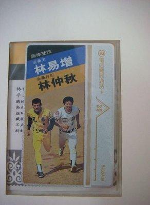 1993職棒雙雄典藏金卡.編號1731.限量10000套.編號2277