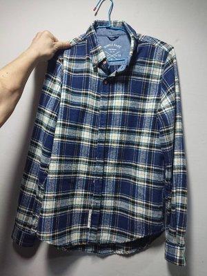 50% FIFTY PERCENT深藍色條紋襯衫
