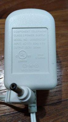 二手 Component Telephone U090030D1201 117V  AC 轉 DC 9V 300mA 變壓器