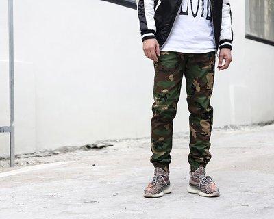 【零碼出清】 Jogger Pants 迷彩縮口褲  26  腰