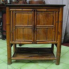 竹傢俱 早期傳統 菜櫥 優美如圖...b17