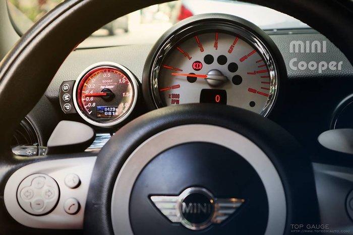 【精宇科技】Mini Cooper S R56 R60 F55 F56 專用多合一渦輪錶 水溫錶 排溫錶 電壓錶