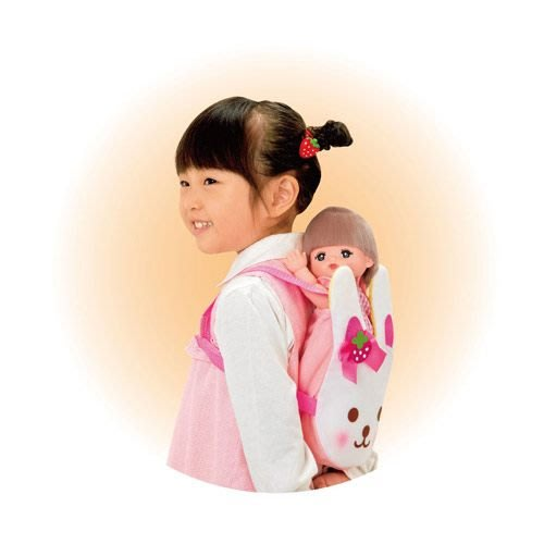 小美樂娃娃 小兔嬰兒背帶_ PL 51279原價395元 日本幼兒園最愛娃娃 永和小人國玩具店