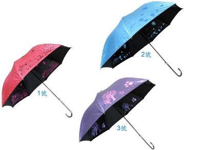 雨傘 23英吋色膠布自動傘.2支只賣350元(不挑色)宮廷傘 不透光.防強風【同同大賣場】晴雨傘