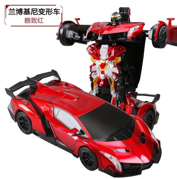 超酷變形車機械人~手感應變形車~遙控變形金剛~遥控變型機器人~升級版~遙控機器~無天線遙控~生日禮物