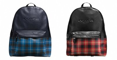 COACH 55394 CHARLES BACKPACK IN PRINT COATED CANVAS後背包