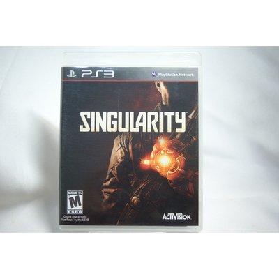 [耀西]二手 美版 SONY PS3 異點 Singularity 含稅附發票