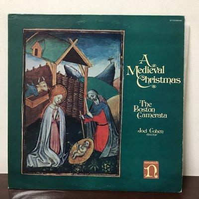 晨雨黑膠【古典】※AS, Super LP※ 美版Nonesuch/中世紀聖誕音樂/Joel Cohen/波士頓古樂團