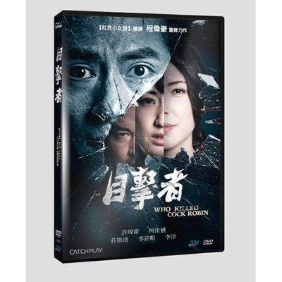 ⊕Rain65⊕正版DVD【目擊者】- 紅衣小女孩-許瑋甯*柯佳嬿*莊凱勛(直購價)