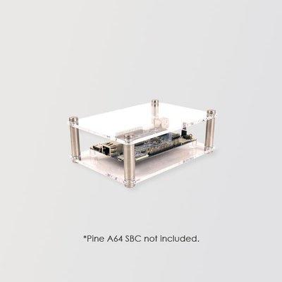 ROCKpro64 壓克力外殼 OPEN ENCLOSURE