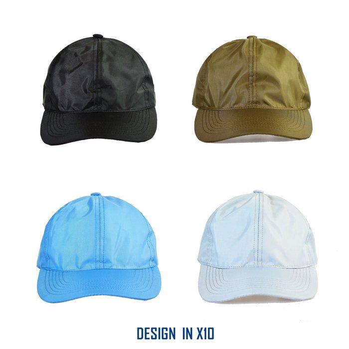 --- X10 --- 2019  防潑水 NYLON  CAP  輕量化 老帽  棒球帽   網眼  台灣製