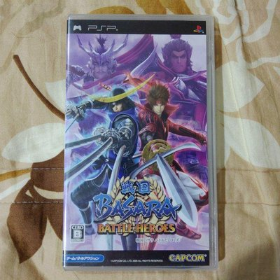 PSP 戰國BASARA 熱戰英雄 純日版 (編號368)