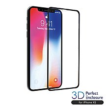 【現貨】ANCASE iPhoneXS 5.8 3D PERFECT ENCLOSURE日本旭哨子2次強化玻璃螢幕保護膜