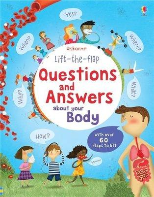 usborne 之 Lift-The-Flap 之 Questions and Answers 厚紙書 寶寶書 英文