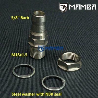 "Fitting 5/8""Hose W/N Welding Turbo Oil Pan Return Drain Plug"