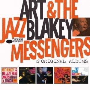 亞特布萊基 爵士超凡大師傳奇5CD王盤套裝/亞特布萊基 Art Blakey---4711091