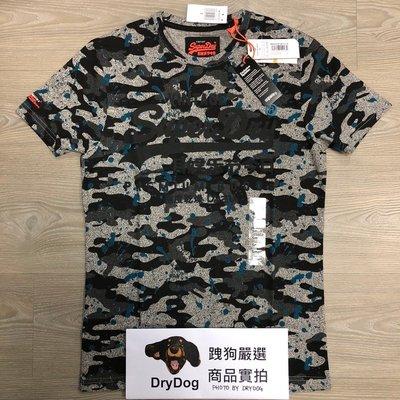 跩狗嚴選 土耳其製 極度乾燥 Superdry T-shirt 鳳凰灰 黑迷彩 純棉 短袖 T恤 上衣
