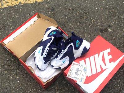 慶豐體育? nike zoom 2k ao0269/104 深藍紫 白 水藍 慢跑鞋 老爹鞋 氣墊 黃蜂隊配色