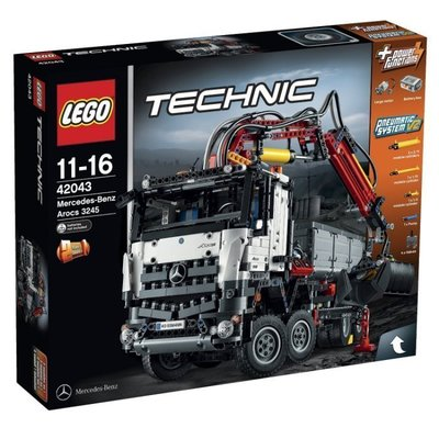 「絕版品」LEGO 42043 Technic Mercedes-Benz Arocs現貨