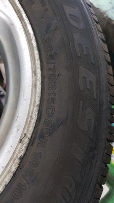 全新正品 205/70/15C 最便宜一條1900元 最後8條 15吋貨車胎