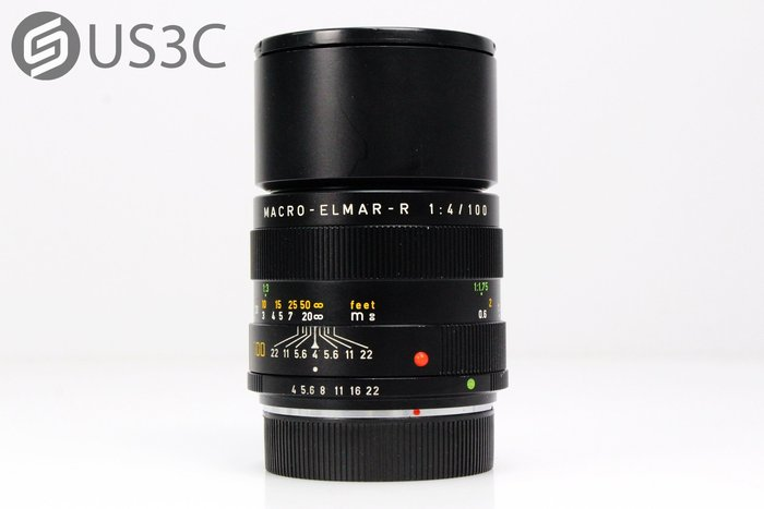 【US3C】徠卡 Leica MACRO-ELMAR-R 100mm F4 德國製造 全片幅鏡頭 微距鏡頭 附保護鏡