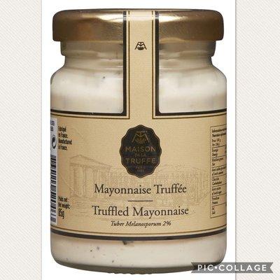 法國 松露之家 Black Truffle Mayonnaise 黑松露蛋黃醬 80g(預購)