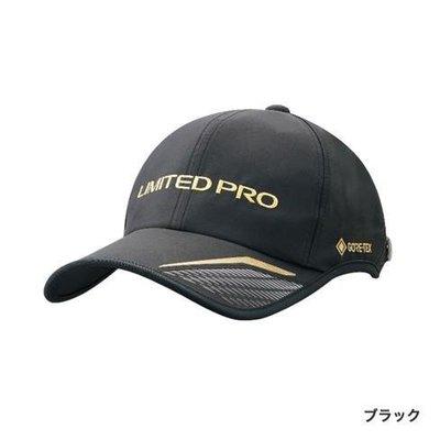 SHIMANO CA-025T GORE-TEX 釣魚帽 LIMITED PRO 黑色