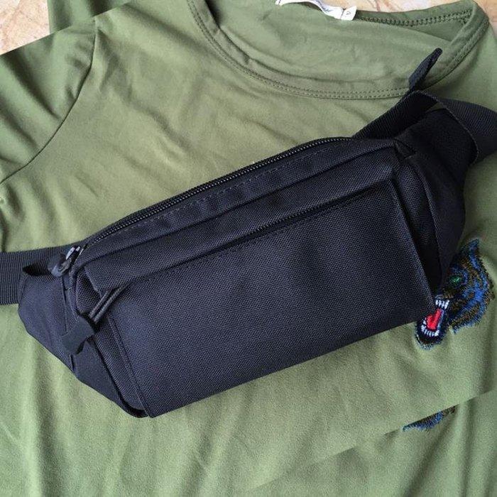 腰包男多層多功能小包包橫款防水迷你休閒實用耐磨運動跑步手機包HT0531