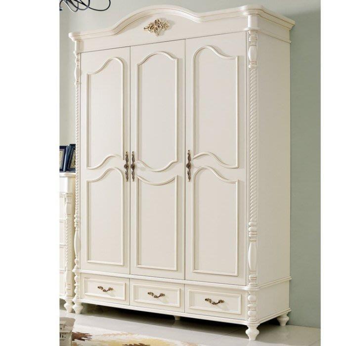 法式衣櫃現代簡約大衣櫥小戶型主臥家用臥室輕奢木質家具櫃子