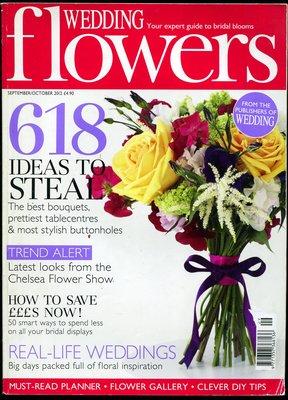 紅蘿蔔工作坊/婚禮鮮花~Wedding Flowers Magazine Subscription(外文書)9K