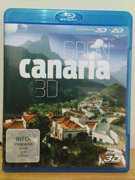 ╭☆影碴館☆╮**原版藍光BD~GRAN  canaria 3D(風景)~**(同時收錄3D及2D版本)