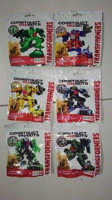 [6款合購出清特價] 變形金剛 KRE-O Construct Bots 柯博文 大黃蜂 準星 飄移 探長 禁閉 孩之寶