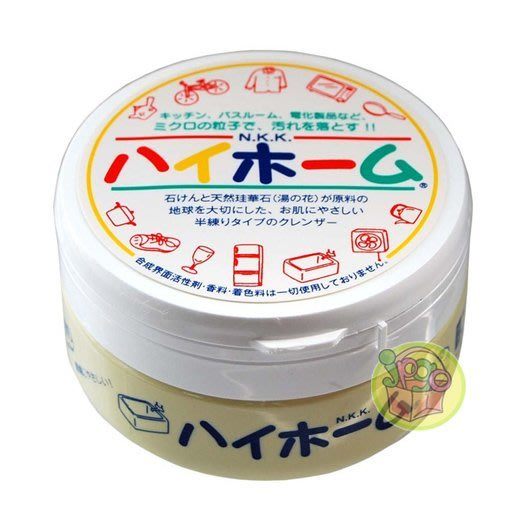 【JPGO日本購 】日本進口 湯之花 神奇萬用去污膏 清潔膏#420