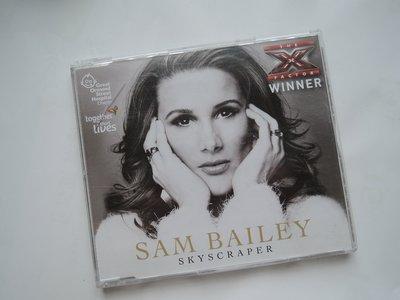 絕版進口單曲CD, 珊貝莉 Sam Bailey 英國X Factor第十季冠軍
