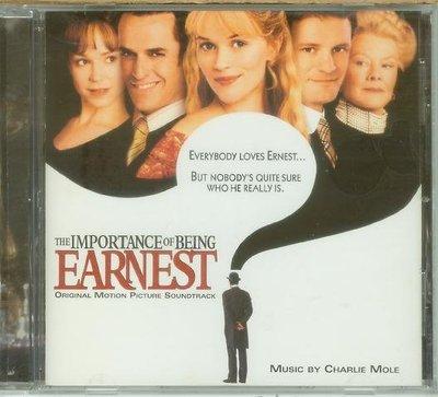 """""""不可兒戲 The Importance of Being Earnest""""- Charlie Mole,美版,I-6"""