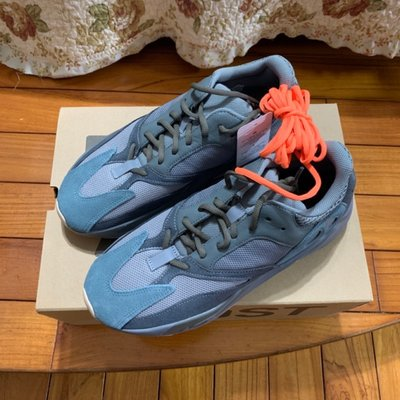 Adidas yeezy boost 700 teal blue 二手 US9.5 fw2499