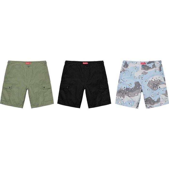 【美國鞋校】預購 SUPREME SS20 Cargo Short 短褲