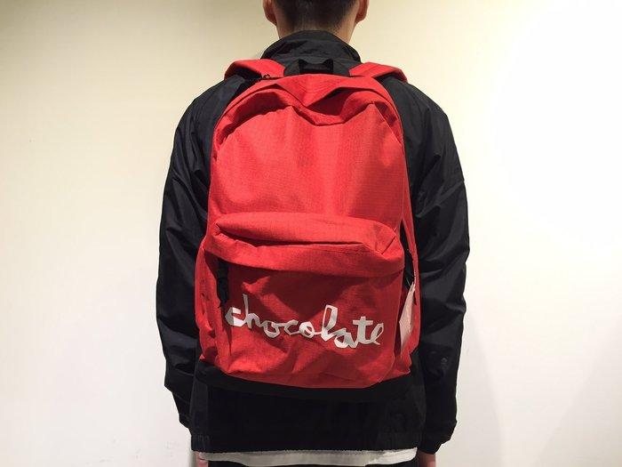 [JIMI 2] Chocolate - Canvas Backpack 後背包 Girl姐妹品牌 滑板 (紅)