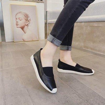JC Shop【35-40#】真皮女鞋 牛皮懶人鞋 真皮休閒鞋女 真皮運動鞋板鞋 真皮小白鞋女