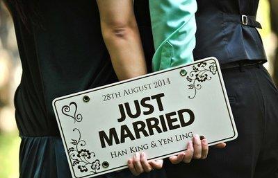 Zakka 雜貨 Wedding 拍照裝飾 婚禮裝飾訂製牌