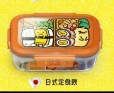 💖思賢&衣櫃💖 7-11 蛋黄可世界料理系列 耐熱玻璃密封保鮮盒 { 日式定食款 } # 054[現貨]