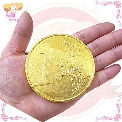 ☆小麻吉家家愛☆特大獎章金幣巧克力20片家庭號經濟包270元  歐元大金幣巧克力 新年獎品