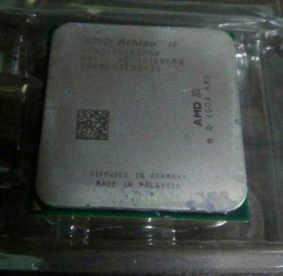 AMD AthlonII  245 2.9G雙核心處理器,可超3.6G。