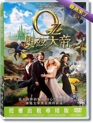 JAY=DVD【奧茲大帝】詹姆斯法蘭柯│得利公司貨-A03