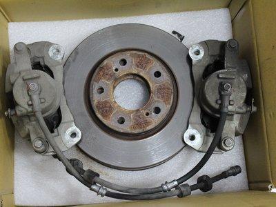 ~三重長鑫車業~納智捷 原廠 S5 中古前卡鉗 含來令片及碟盤 狀況正常 沒有整理過 另有 LUXGEN M7