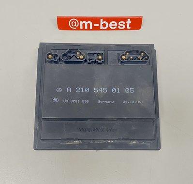 BENZ W210 M111 96-99 輔助風扇控制器 電腦 散熱馬達 冷氣馬達 電子風扇 2105450105