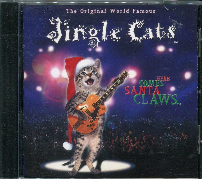 【塵封音樂盒】貓咪聖誕節 JINGLE CATS HERE COMES SANTA CLAWS 日版