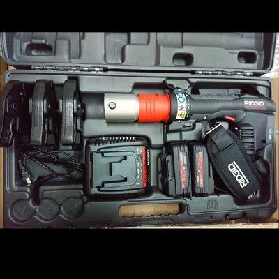(my工具)RIDGID里奇18v充電式壓接機 雙牧田5.0電池
