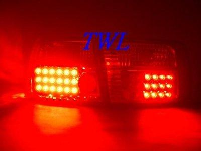 《※台灣之光※》全新HONDA喜美K8 JC 96 97 98 99 00年 2D 2門COUPE LED紅白晶鑽尾燈組
